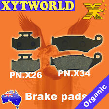Front Rear Brake Pads for Kawasaki Kx125 KX 125 K1 1994