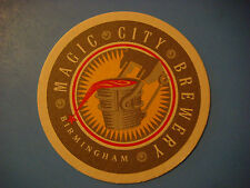 Beer Coaster ~*~ MAGIC CITY Brewery ~ Birmingham, ALABAMA ** Open From 1995-2000