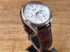 Watch Esprit Chronograph Quartz Movement Men Original Dial Wrist Watch In Box