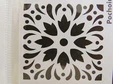 Pochoir Déco style Carreau Ciment mod20 tous supports 15x15cm Artemio Home Deco