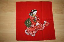 """Chirimen Furoshiki Made in Japan """" Schönheit-Tsuzumi 鼓 """" Wickeltuch  Lunchbox"""