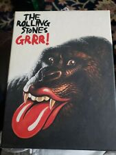 The Rolling Stones GRRR! 3 CD +hardback book+posters