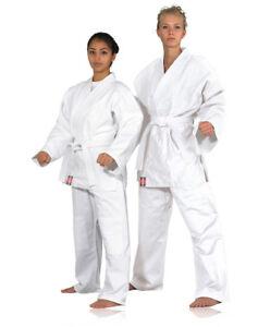 KANKU Bjj gi, Judo Uniform, Single Weave 450 gram White and Blue  Jiu Jiutsu