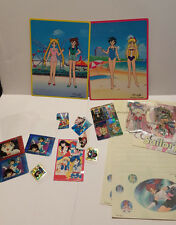 Sailor Moon Dress Up Paper Dolls Stationery Sticker Set Lot SMOKING HOME