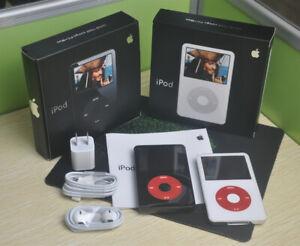 NEW Apple iPod Video Classic 5th Gen U2 Special Edition 30GB/60GB/80GB WARRANTY
