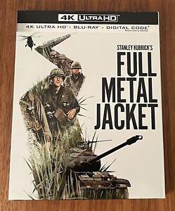 Full Metal Jacket (4K Ultra HD + Blu-Ray, 1987) Slipcover No Digital