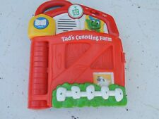 Leap Frog Tad's counting Farm works good