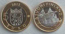 """5 Euro Finnland 2015 """"Tiere der Provinzen - Tavastia"""" unz."""