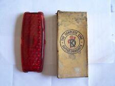 1941 1942 chevy lens tail light new 1943 1940 taillight  brake light new flat