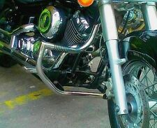 STAINLESS STEEL CUSTOM CRASH BAR GUARD+PEGS YAMAHA XVS 650 DRAGSTAR (V-STAR) C/C