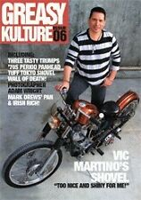 Greasy Kulture Magazine Issue 6 Harley Triumph Sportster Panhead iron XS650 GKM