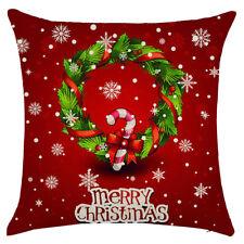 Schlussverkauf Europaeischen Stil Kissenbezug Weihnachten Haushalt Dekor Ki Q2F2