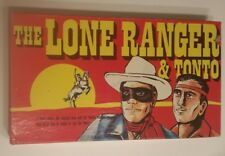 Vintage Lone Ranger and Tonto Board Game by Warren 1978 Western