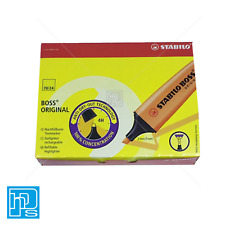 Stabilo Boss Original Highlighter Pen Yellow (Pack of 10)