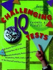 NEW - Challenging IQ Tests by Carter, Philip J.; Russell, Kenneth A.