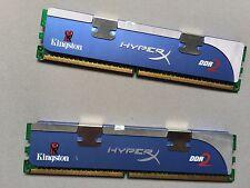 2 x Kingston HyperX 2GB kit 4GB DDR2-1066 Desktop RAM/KHX8500D2/2G/2.3v fastship