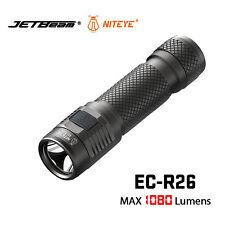 Jetbeam Niteye EC-R26 Edc Lantern 1080 Lumen  Side Switch 18650 Flashlight