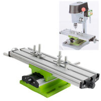 Adjustable Milling Machine Cross Sliding Table Vise For DIY Lathe Bench Drill