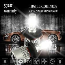 Pair H4 9003 HB2 1500W 225000LM COB LED Headlight Bulbs Kit Hi/Lo 6000K White
