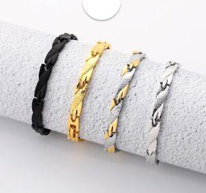 Armband Herren Männer Magnetfeld Gesundheit Gewicht Abnehmen Energie Lässig Mode