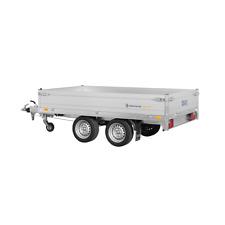 SARIS Hochlader PL 276 150 2000 2 Tandem Pritsche PKW Anhänger 2000 kg 276x150