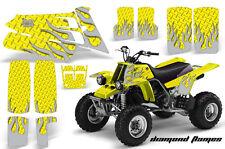 AMR Racing Yamaha Banshee 350 Decal Graphic Kit ATV Quad Wrap  87-05 DFLAME SLVR