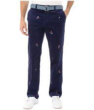 $125 NEW MENS sz 30x30 VINEYARD VINES SLIM FIT CORDS BLUE Corduroy Pants SKIER
