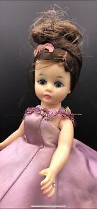 """Margot #920 1961 Satin Gown 10"""" Cissette Madame Alexander Doll"""