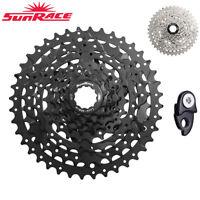 SunRace CSM680 8 Speed 11-40T Wide Ratio Bike MTB Cassette Derailleur Freewheel
