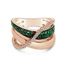 Новое кольцо Levian ® Коста Эсмеральда изумруды бриллианты ванили ® 14K клубника золото ®