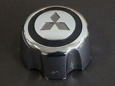 (1) FACTORY OEM MITSUBISHI MONTERO CHROME CENTER CAP / HUBCAP BLACK CHROME