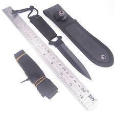 Cuchillo Militar Defensa Personal con funda de porte y ebillas