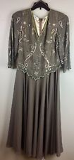Scala Womens Dress MOTHER OF BRIDE Wedding Guest Formal Size Large