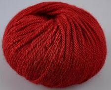 Zarela ARAN Super Soft 100% Luxurious Baby Alpaca Yarn - Red Wine
