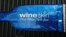 New 2-pack Wine Skin WineSkin Bag For 750 Ml Bottle - Blue