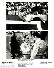 2002 Vintage Photo Talk To Her Hable con ella movie Rosario Flores Javier Conde