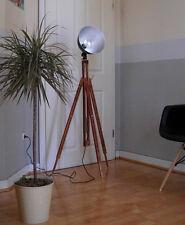 Retro loft Tripod Studio Wood pie lámpara Bauhaus madera trípode lámpara lámpara