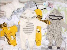 35 Tlg SET Baby Starterset Gr 56 62 68 Erstausstattung Traum Paket Grau Unisex