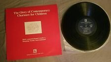 The Glory of Contemporary Choruses for Children LP made in Japan 1983 IKS