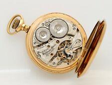 GREAT 23j 16s Waltham Riverside Maximus Hunting antique pocket watch