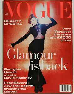 1993 Nick Kinght VOGUE 90s vintage fashion magazine Christian Kettiger lingerie