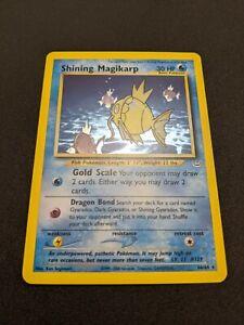 Shining Magikarp 66/64 Neo Revelation Secret Rare Holo Pokemon Card NM-M