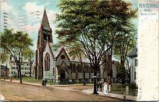 Postcard MA New Bedford Raphael Tuck - Grace Church - Series 1079 1908 A10