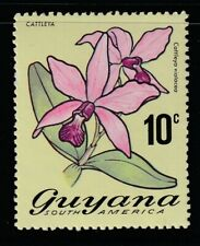 Guyana 1972 Sc # 138(10c) Orchids Mnh (55513)