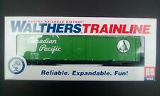 Walthers Trainline Canadian Pacific Boxcar CP81046 Railroad History - HO Scale