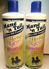 Mane 'n Tail Herbal Gro Shampoo  Conditioner Olive Oil Complex 12 oz,