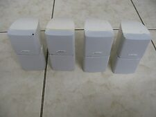 4 x BOSE DOUBLE CUBE ACCOUSTIMASS SPEAKERS