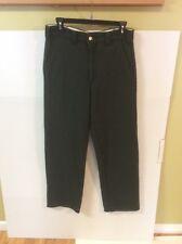 Codet Hunter Green Heavy Wool Pants sz 32 x 31 Made in Canada