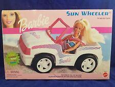 2001 Barbie Sun Wheeler 67557 White Beach Buggy Vehicle - New in Box!