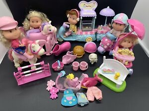 ELC Early Learning Centre Rosies World - Ice Cream - Horses  - Figures